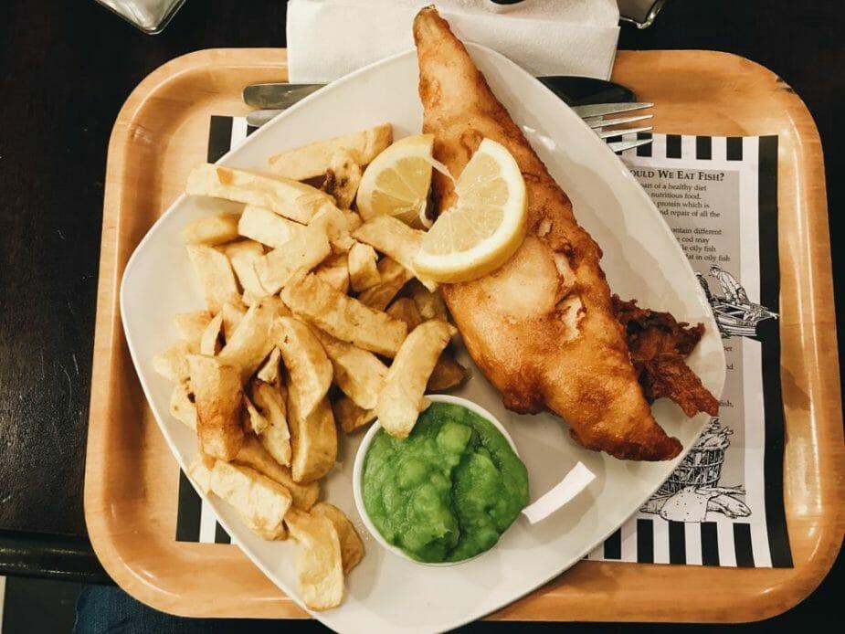 fish & chips senza glutine Dublino