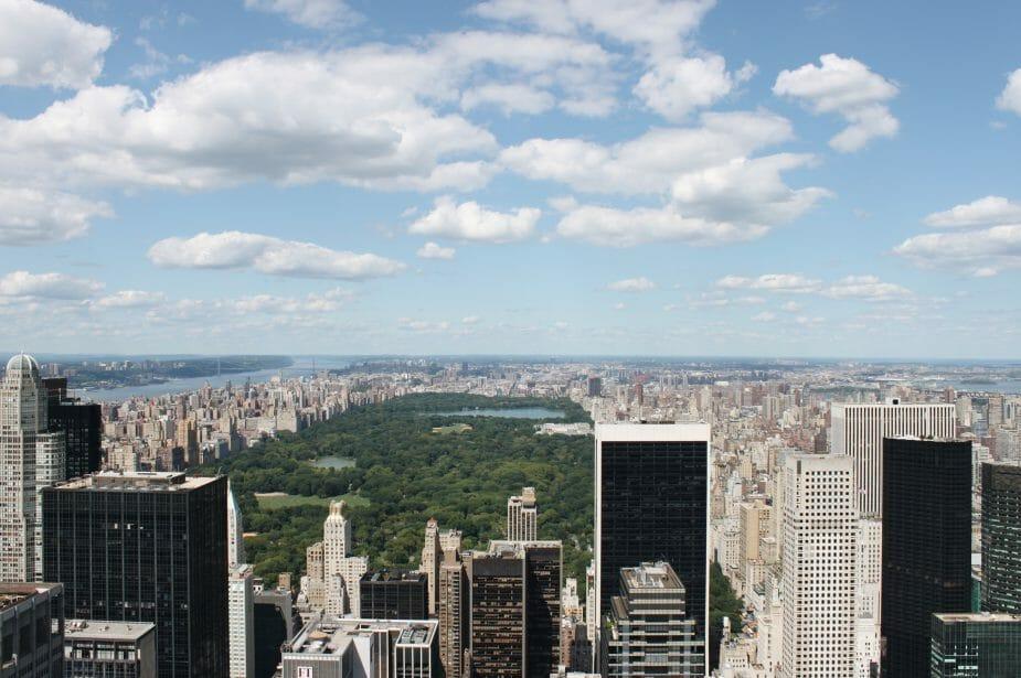 Central Park da Top of the Rock