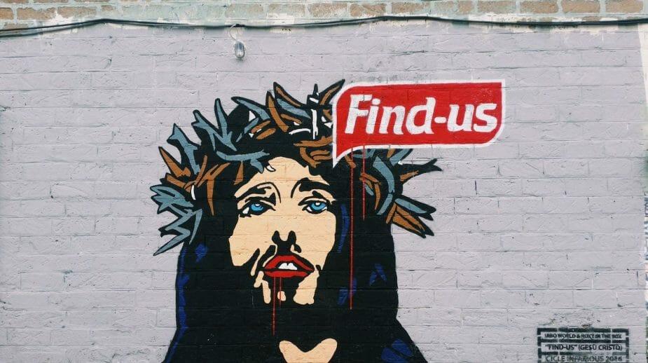 Roma insolita street art Maam Metropolitz