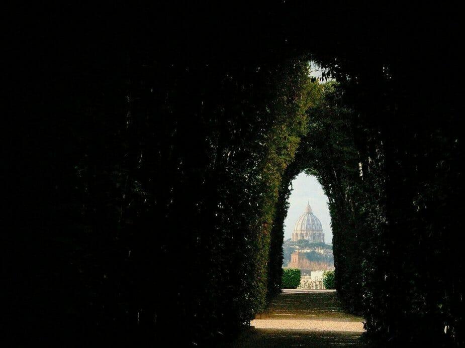 buco della serratura giardino degli aranci Roma