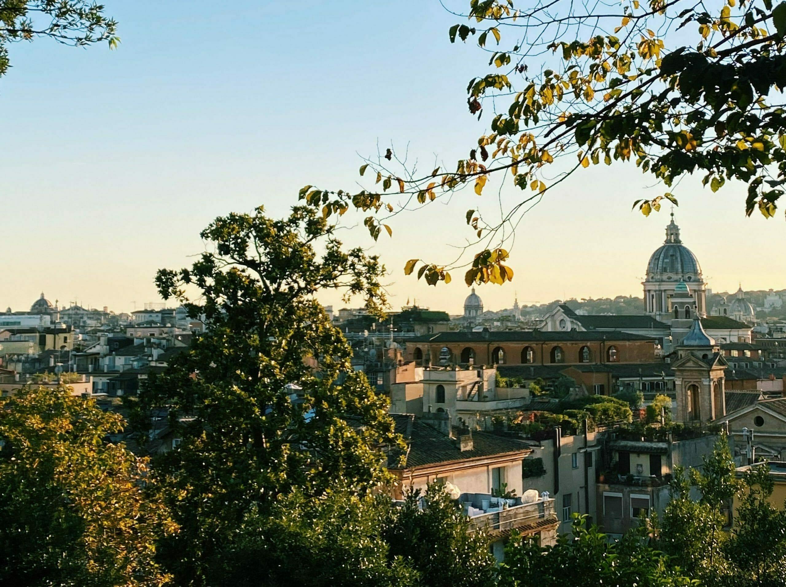 punti panoramici Roma