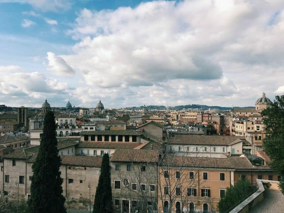 Roma dall'alto