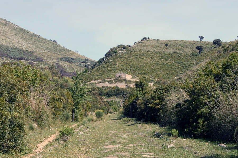 antica via Appia Fondi