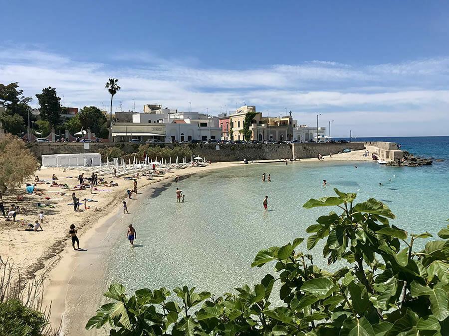 spiagge del salento meno affollate