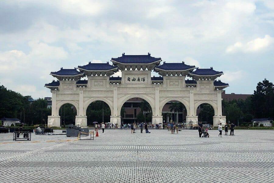 la capitale di Taiwan