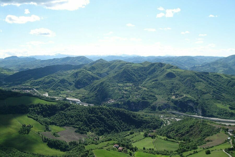 via degli dei trekking Bologna Firenze